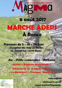 Affiche Marche Adeps 2017