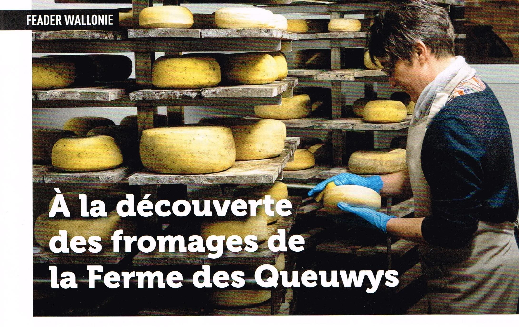 À la découverte des fromages de la Ferme des Queuwys